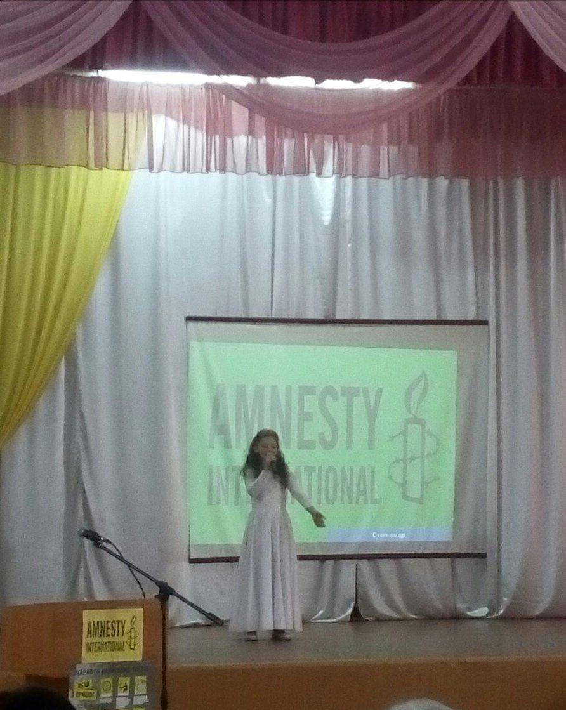 Эстафету Марафона Amnesty International в Кривом Роге подхватила 68-я школа, - ФОТО, фото-4