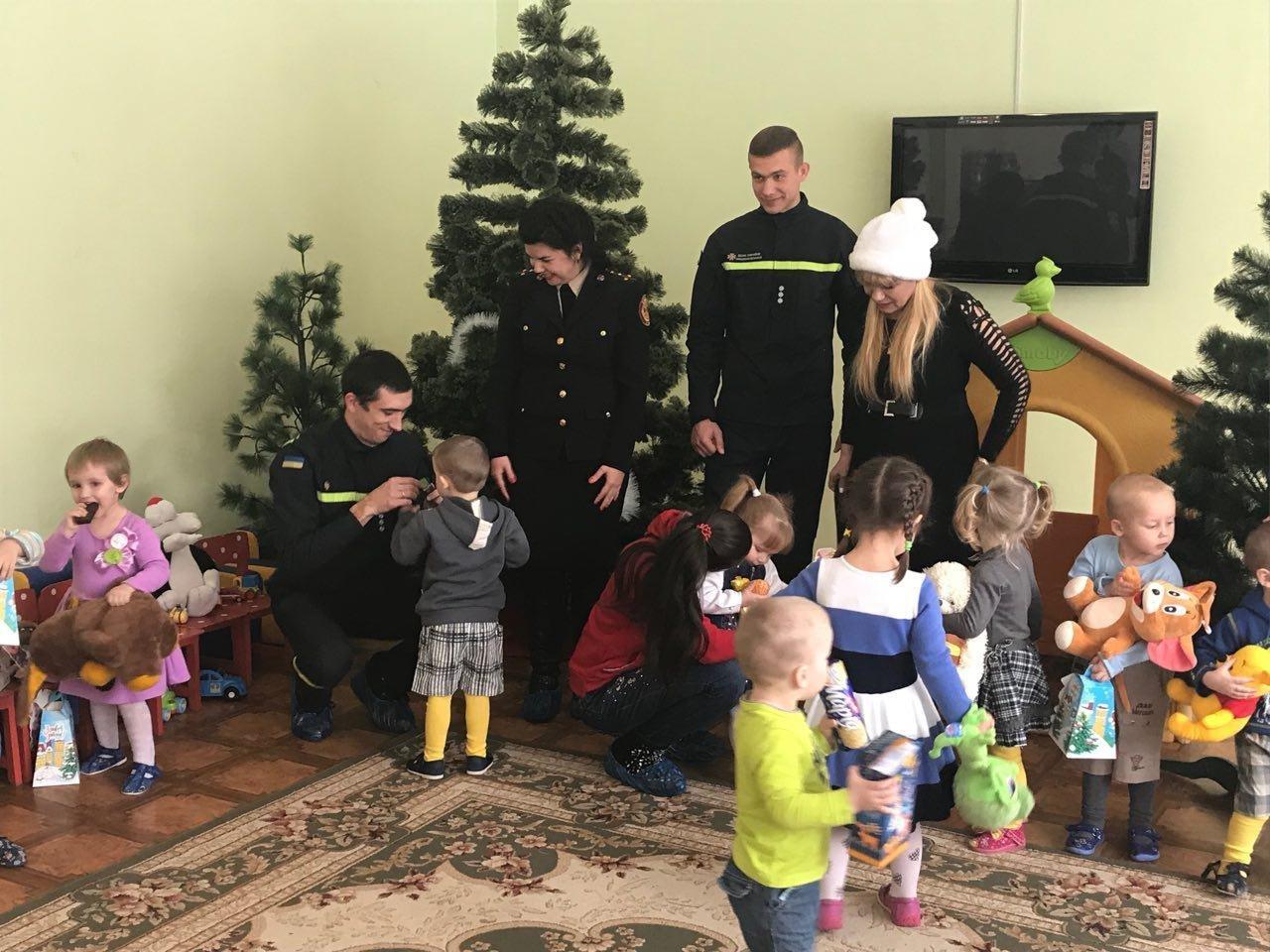 """Криворожские спасатели принесли в """"Дом ребенка"""" подарки от Святого Николая, - ФОТО, ВИДЕО, фото-2"""
