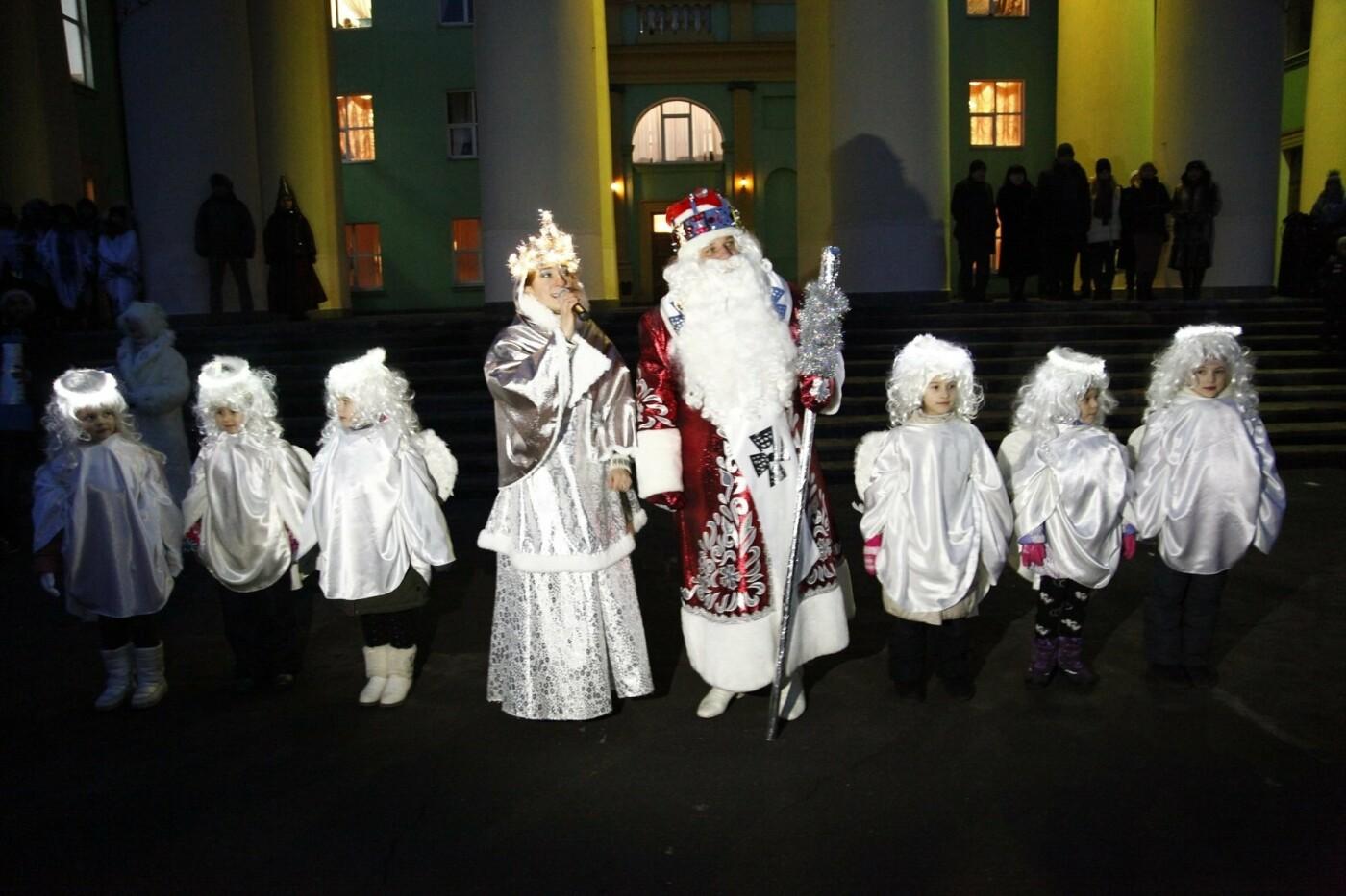 Спешите загадать желание: на ЮГОКе открыли праздничную елку, фото-1