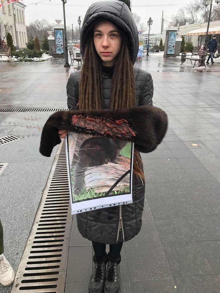 """""""Хватит платить за смерть"""": зоозащитники призвали криворожан отказаться от меховых и кожаных изделий, - ФОТО , фото-5"""