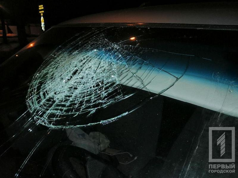 """В Кривом Роге в результате столкновения с микроавтобусов, травмировался водитель """"легковушки"""", - ФОТО , фото-1"""