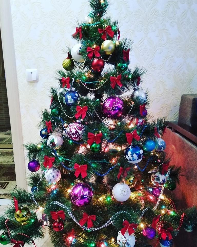 Новый год стучится в дверь: как криворожане дома украсили новогодние елки, - ФОТО , фото-18