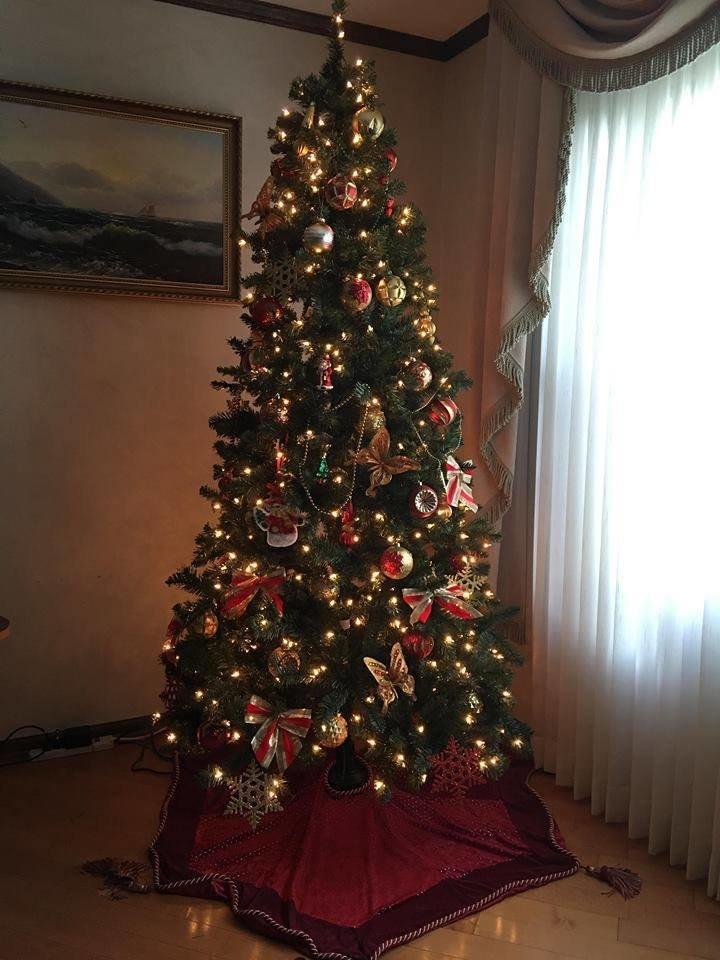 Новый год стучится в дверь: как криворожане дома украсили новогодние елки, - ФОТО , фото-17