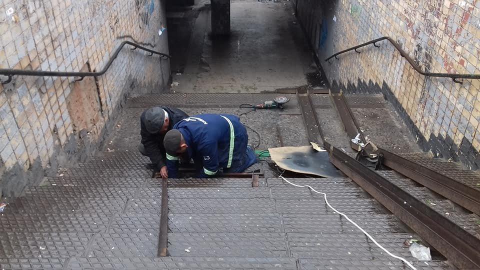 """В Кривом Роге """"черные металлисты"""" испортили подземный переход, - ФОТО , фото-4"""
