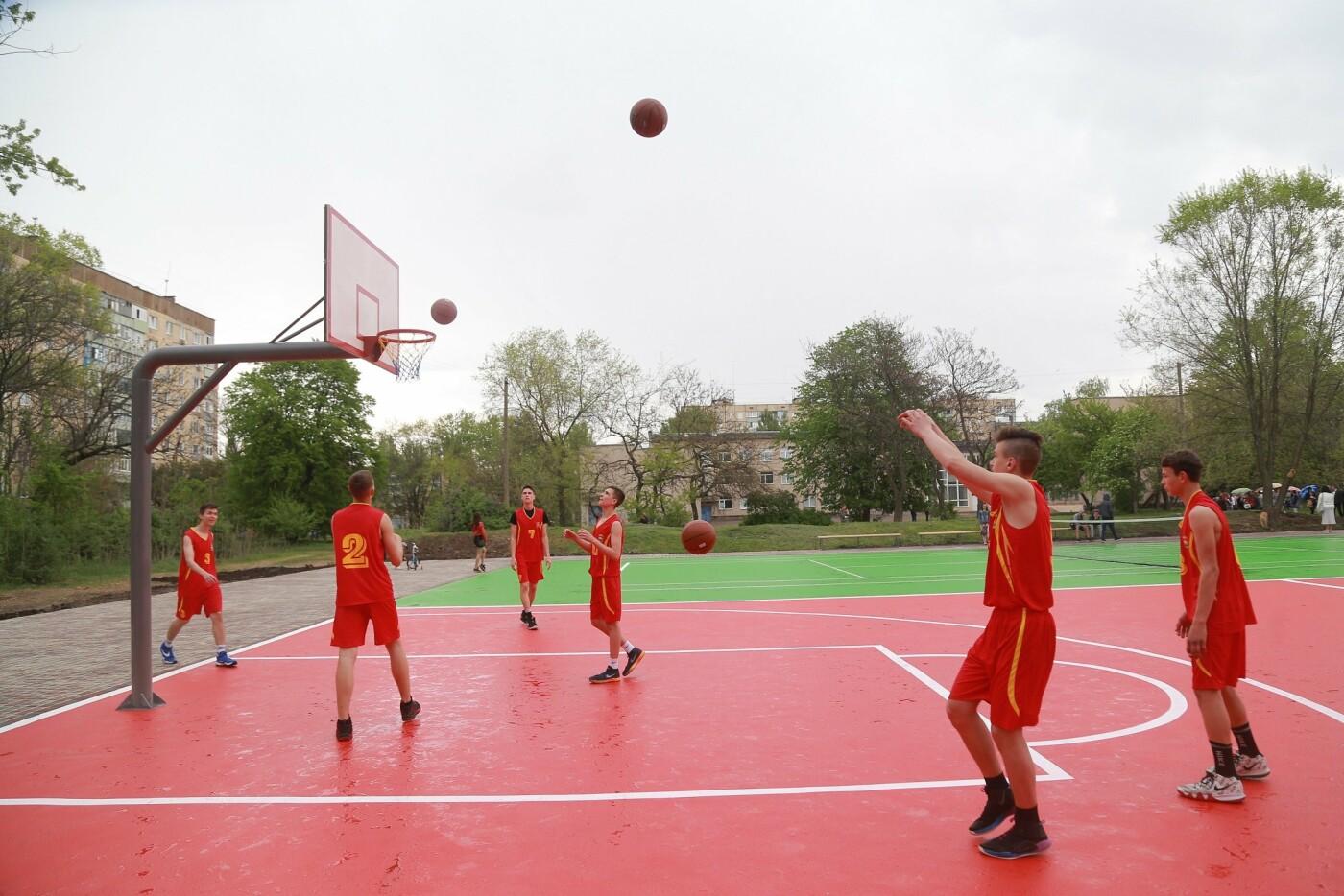 Доступный спорт для каждого: в Ингульце при поддержке Метинвеста установили мультифункциональную спортплощадку под открытым небом, фото-4