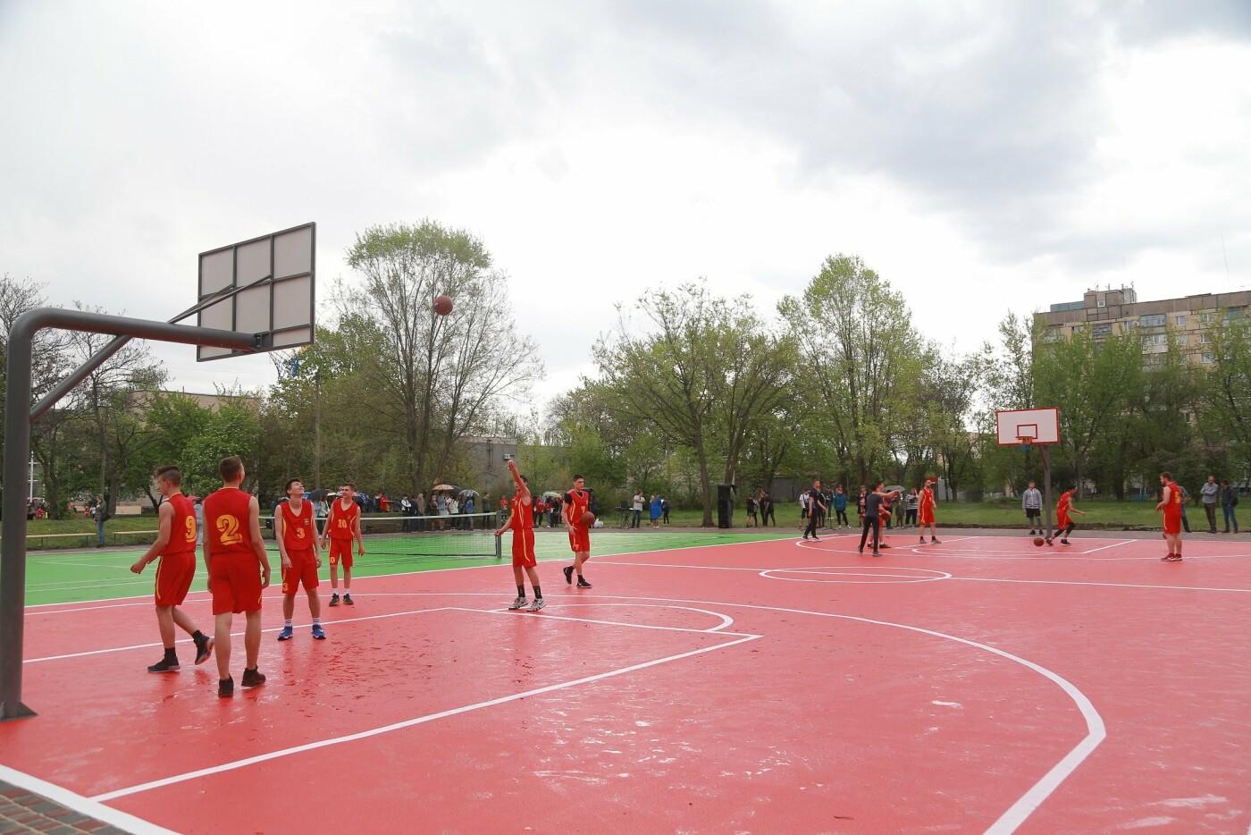 Доступный спорт для каждого: в Ингульце при поддержке Метинвеста установили мультифункциональную спортплощадку под открытым небом, фото-5