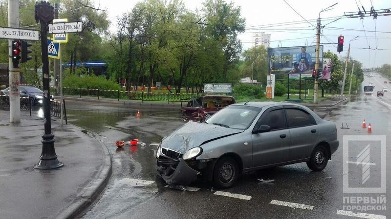 Беременная криворожанка пострадала в аварии, - ФОТО , фото-1