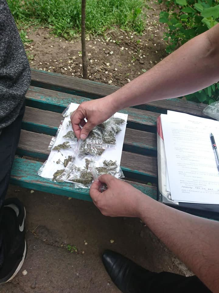 Криворожанин разгуливал по городу с пакетом наркотиков для личного употребления, - ФОТО, фото-2