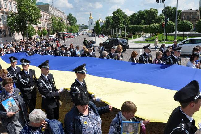 В столице состоялось ежегодное Шествие матерей погибших и пропавших без вести Героев, - ФОТО, ВИДЕО, фото-10