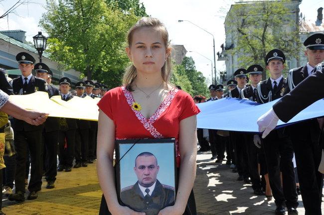 В столице состоялось ежегодное Шествие матерей погибших и пропавших без вести Героев, - ФОТО, ВИДЕО, фото-4