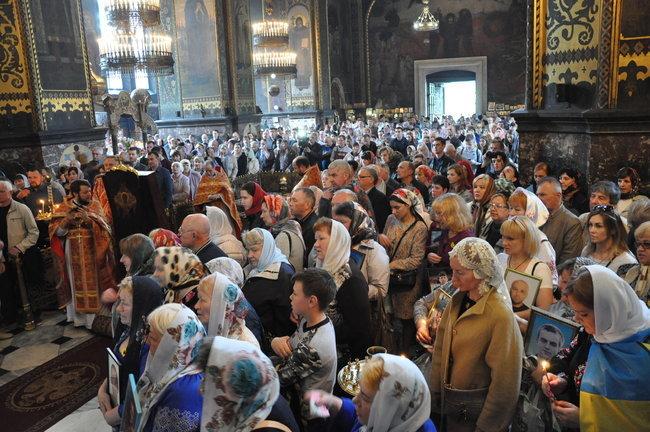 В столице состоялось ежегодное Шествие матерей погибших и пропавших без вести Героев, - ФОТО, ВИДЕО, фото-11