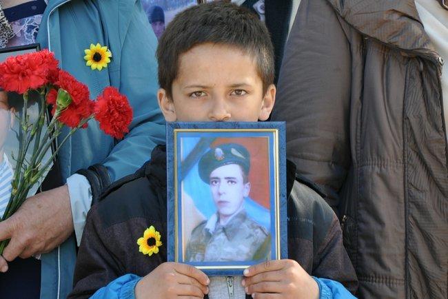 В столице состоялось ежегодное Шествие матерей погибших и пропавших без вести Героев, - ФОТО, ВИДЕО, фото-6