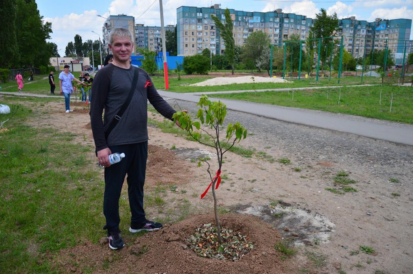 В Кривом Роге появился живой памятник людям, которые умерли из-за СПИДа, - ФОТО , фото-8