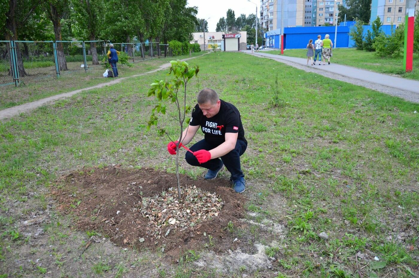 В Кривом Роге появился живой памятник людям, которые умерли из-за СПИДа, - ФОТО , фото-9