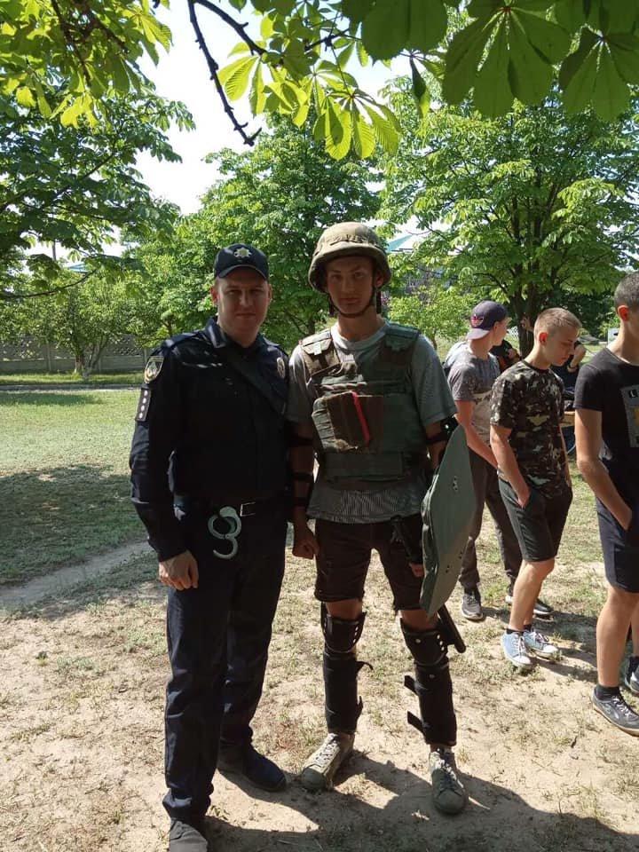 Криворожские полицейские присоединились к военно-патриотической игре «Джура», - ФОТО, фото-2