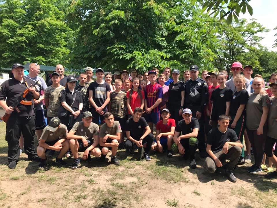 Криворожские полицейские присоединились к военно-патриотической игре «Джура», - ФОТО, фото-6