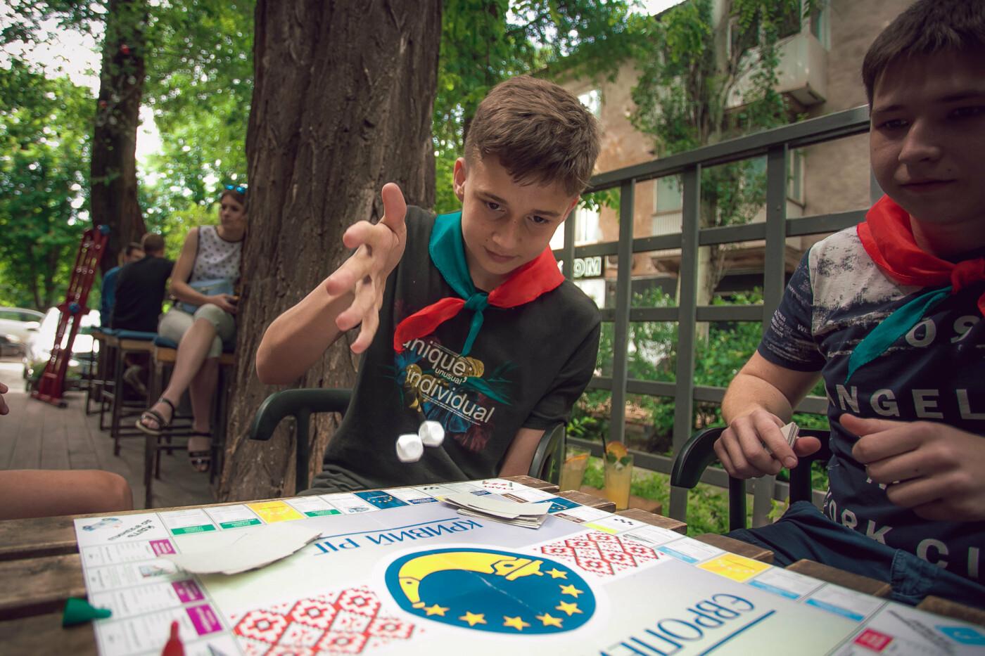 Команда Константина Усова разработала детскую настольную игру «монополия» про Кривой Рог, фото-5
