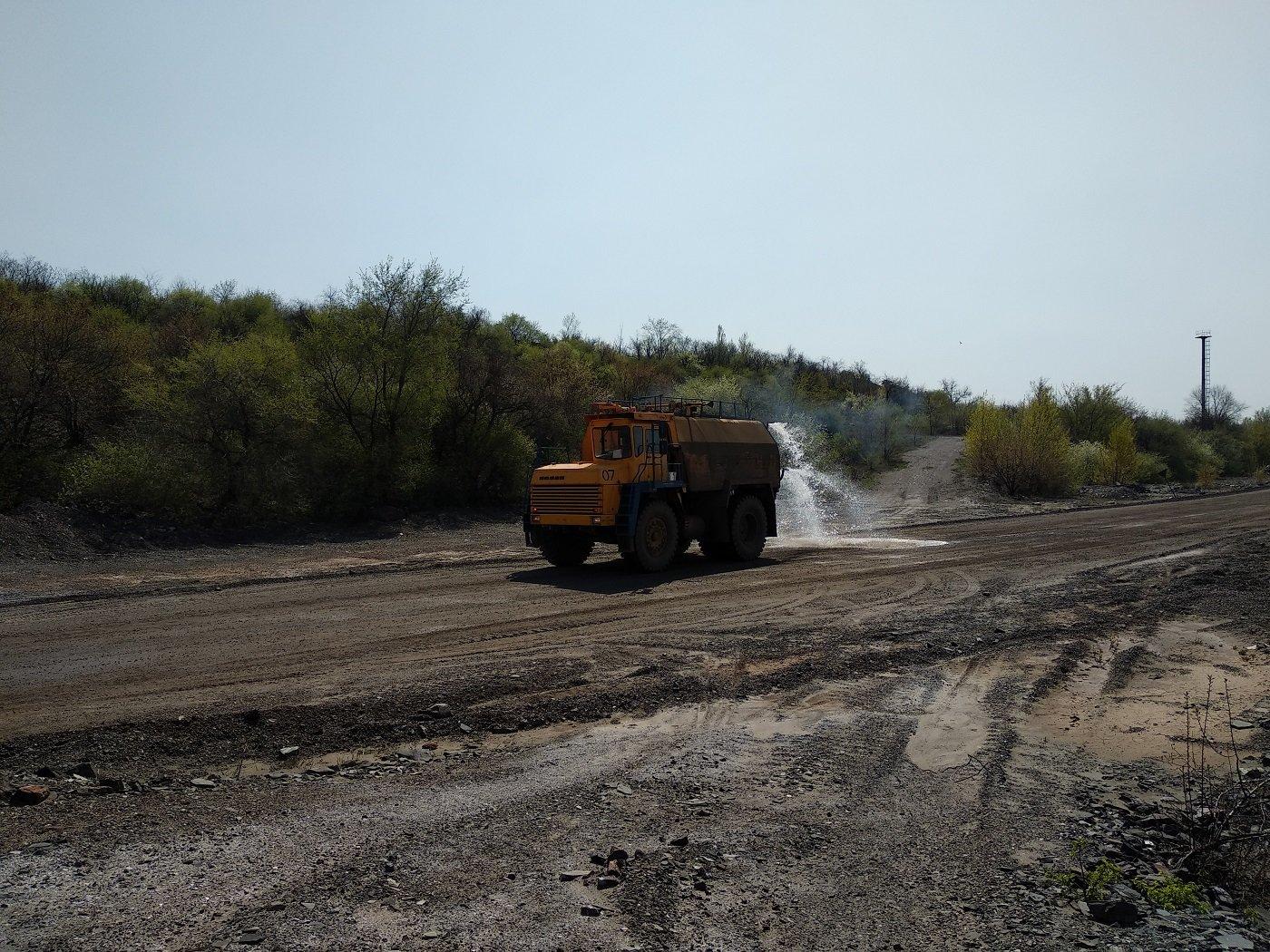 Центральный ГОК использует зеленые технологии в борьбе с пылью, фото-5