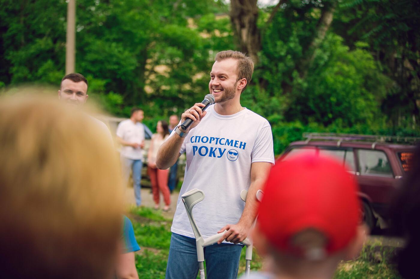 «Спасибо», – ОСМД «Муравейник» в Кривом Роге поблагодарило депутата Усова за спортивную площадку в их дворе, фото-2