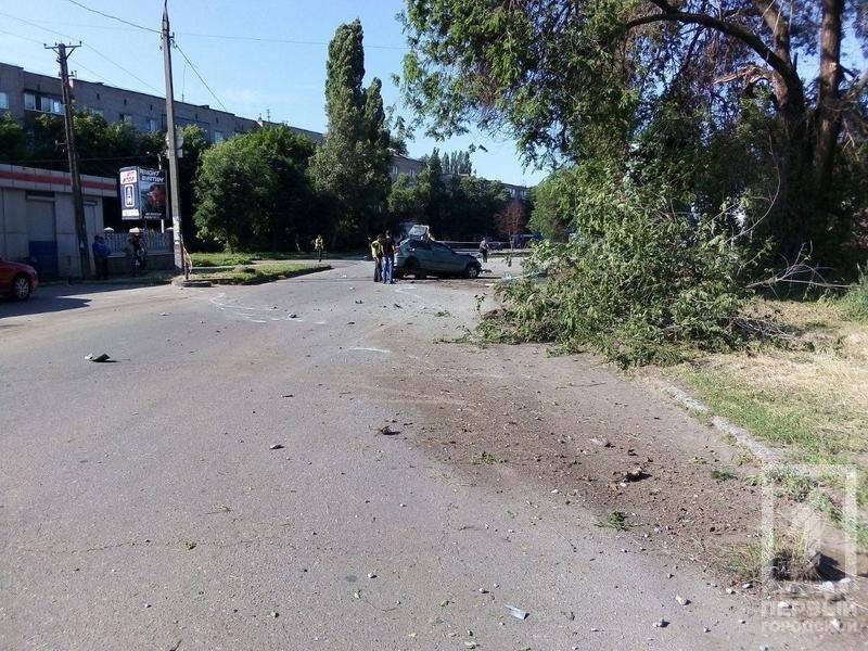 В Кривом Роге иномарка несколько раз перевернулась и задела пешехода. Водитель погиб, - ФОТО, фото-6