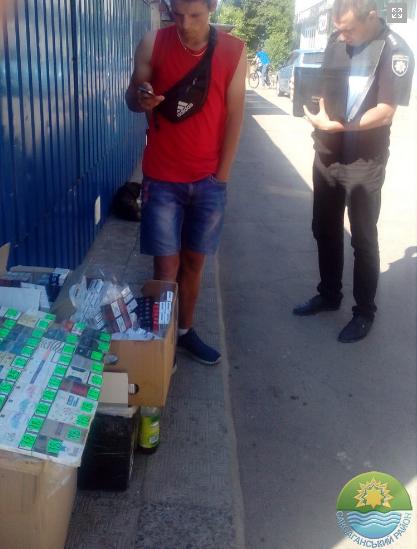 "Более 2 тысяч пачек сигарет за два дня изъяли у криворожских ""бизнесменов-нелегалов"", - ФОТО , фото-3"