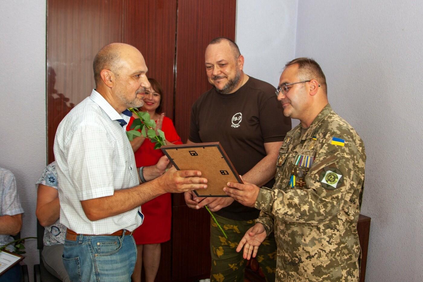 """Бойцы батальона """"Кривбасс"""" встретились с медиками накануне профессионального праздника, - ФОТО, ВИДЕО , фото-3"""