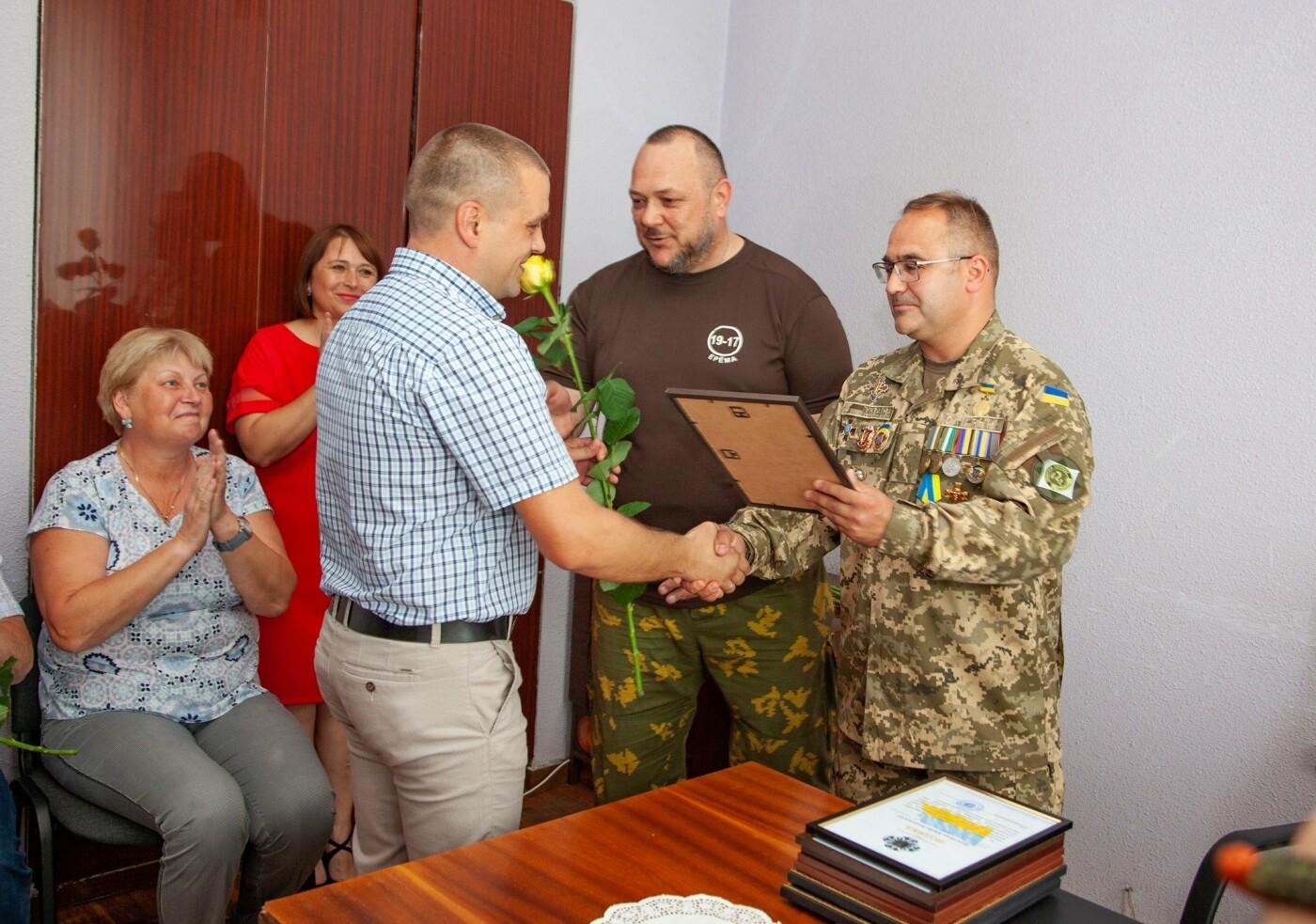 """Бойцы батальона """"Кривбасс"""" встретились с медиками накануне профессионального праздника, - ФОТО, ВИДЕО , фото-8"""