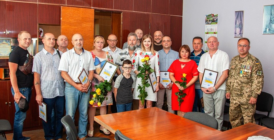 """Бойцы батальона """"Кривбасс"""" встретились с медиками накануне профессионального праздника, - ФОТО, ВИДЕО , фото-13"""