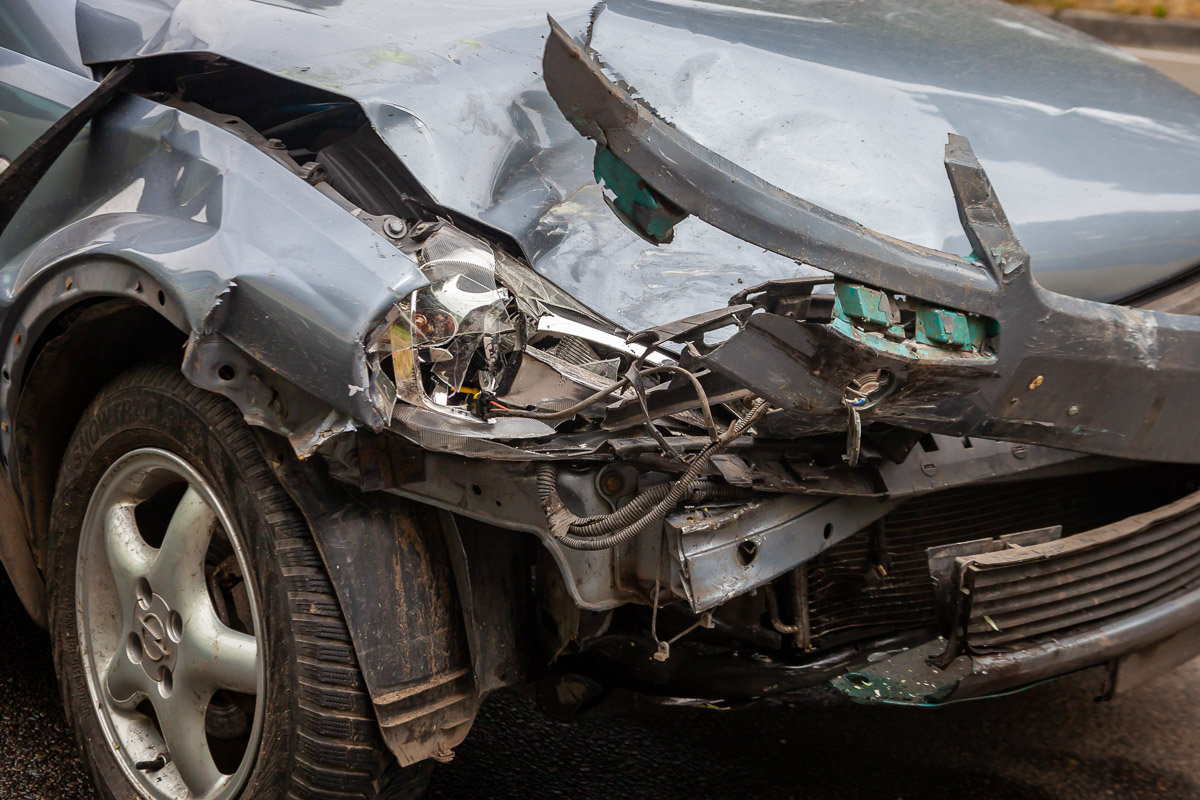 На Криворожской трассе Opel въехал в припаркованный Mitsubishi, - ФОТО , фото-4