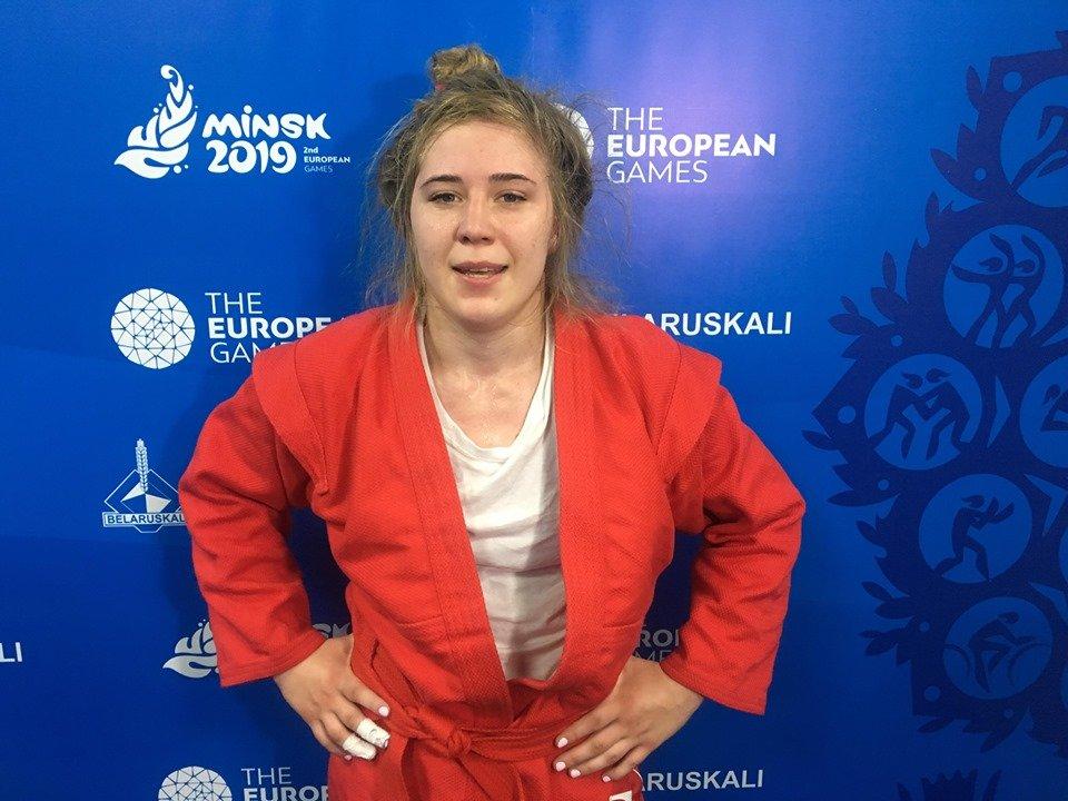 Самбистка из Кривого Рога завоевала второе место на Европейских играх , фото-1