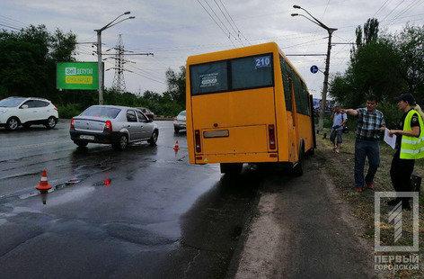 В Кривом Роге маршрутка попала в ДТП, - ФОТО , фото-3
