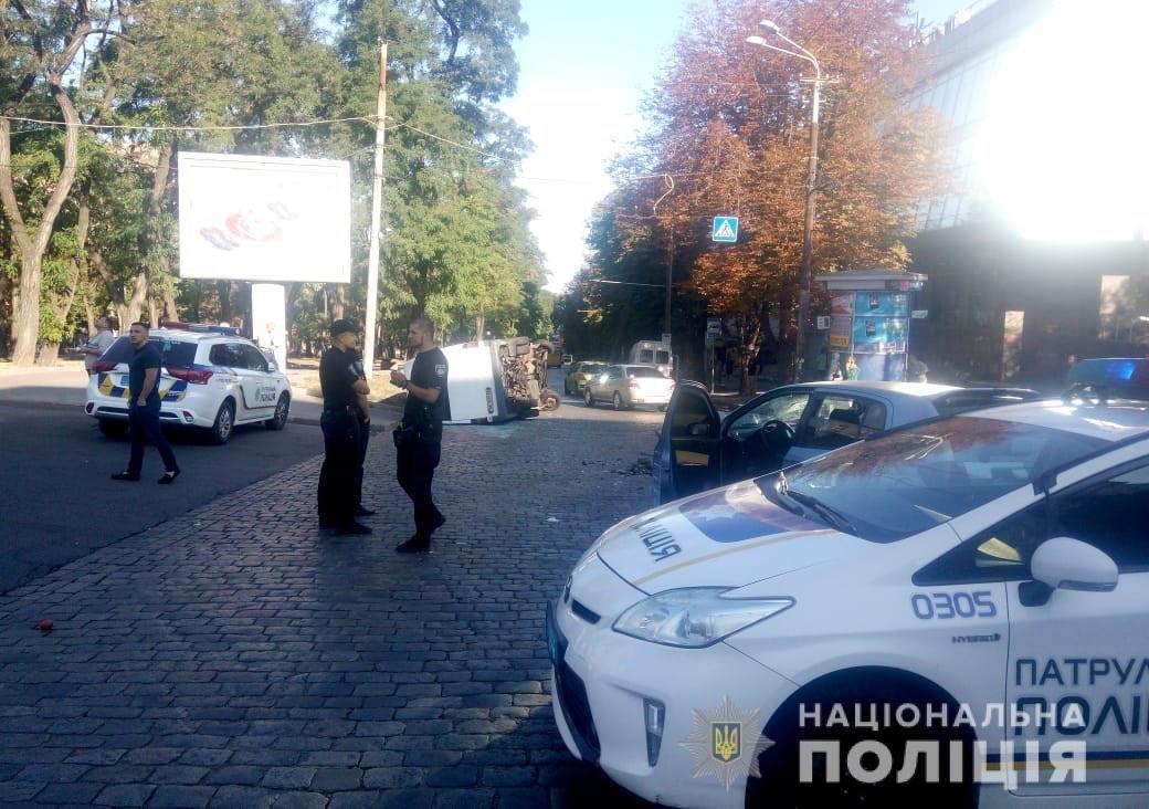 На Днепропетровщине маршрутка попала в ДТП: пострадали 11 человек, - ФОТО , фото-2