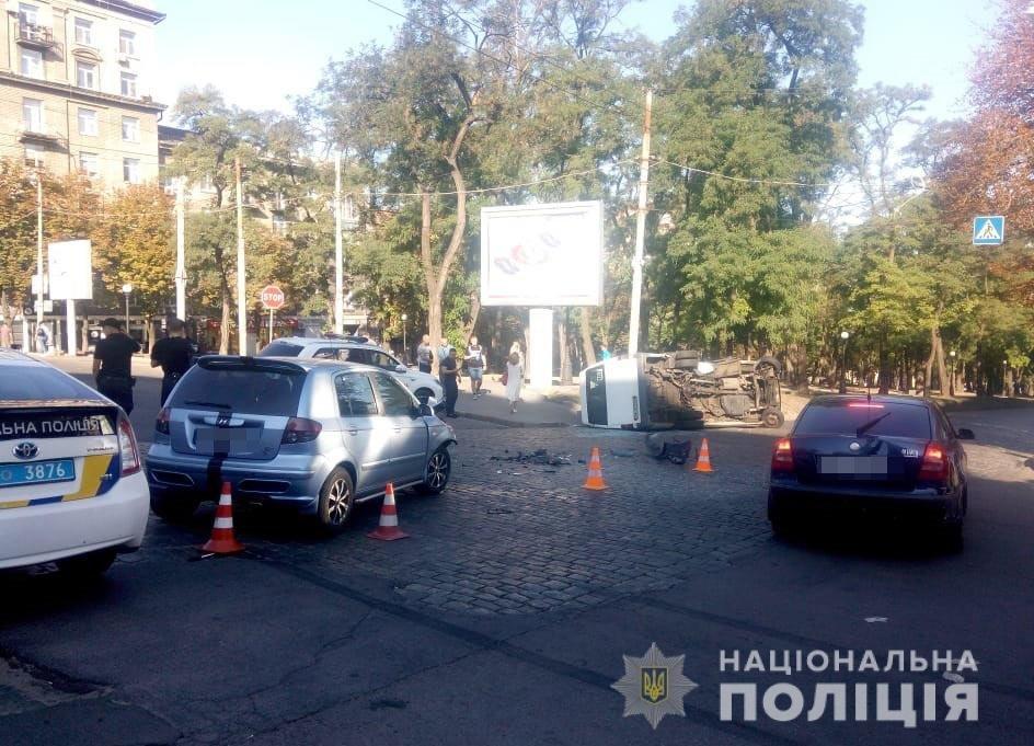 На Днепропетровщине маршрутка попала в ДТП: пострадали 11 человек, - ФОТО , фото-1
