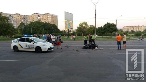 В Кривом Роге столкнулись мотоциклисты: 3 человека пострадали в результате ДТП, - ФОТО , фото-2