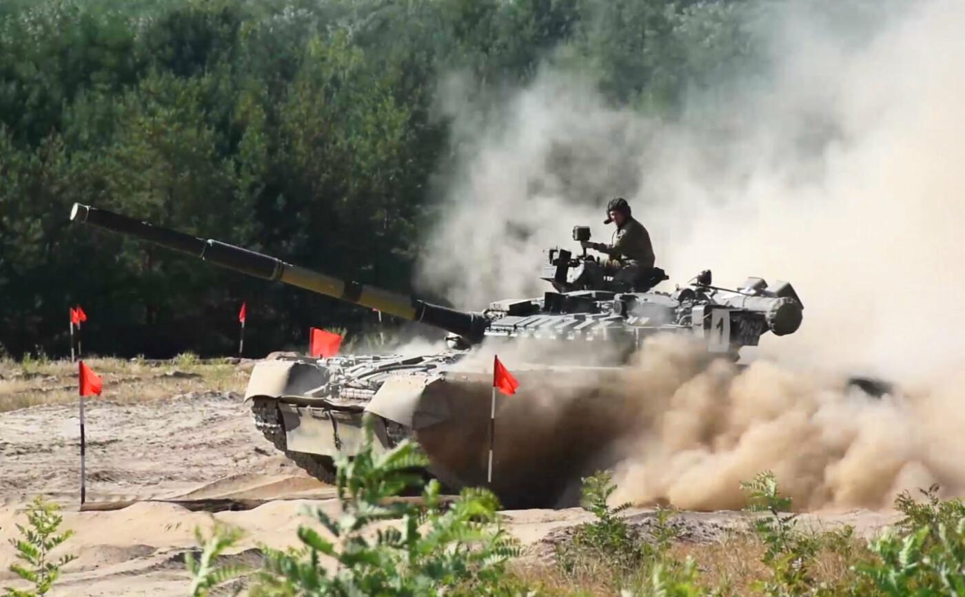 День бригады криворожские танкисты отметили победой в конкурсе на лучший танковый взвод ВСУ, - ФОТО, фото-1