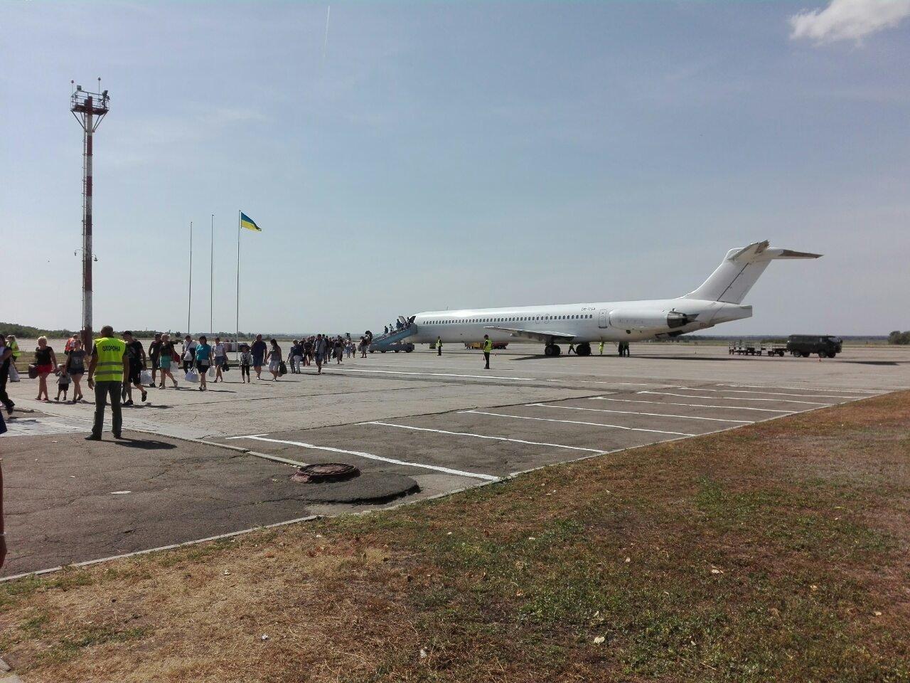 Из криворожского аэропорта впервые вылетел самолет в Черногорию, - ФОТО , фото-5