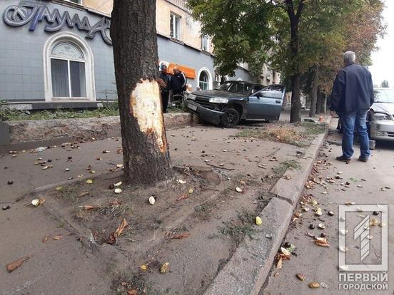 В Кривом Роге припаркованный автомобиль пострадал в результате ДТП, - ФОТО , фото-3