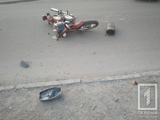 ДТП в Кривом Роге: мотоциклист столкнулся с «ВАЗом»,- ФОТО, фото-2