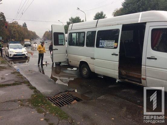 В Кривом Роге в маршрутку с пассажирами врезалась иномарка, - ФОТО, фото-4