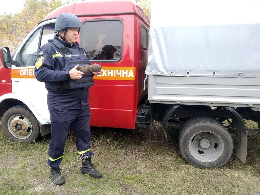 В Криворожском районе во время выпаса скота обнаружили взрывоопасный предмет, - ФОТО, фото-1