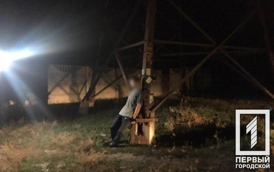 На Карнаватке криворожане обнаружили тело молодого мужчины, висевшее на электроопоре.  -  ФОТО 18+, фото-2