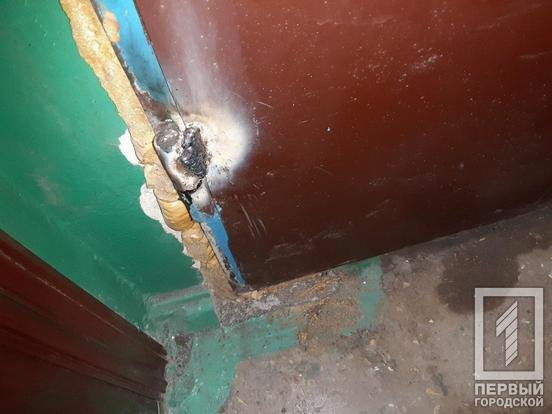 Криворожанин монтажной пеной заблокировал дверь в квартиру, чтобы его жена и ребенок не попали домой, - ФОТО, фото-3