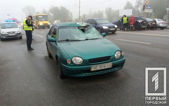 В Кривом Роге иномарка сбила пешехода. Пострадавший в тяжелом состоянии, - ФОТО, фото-1