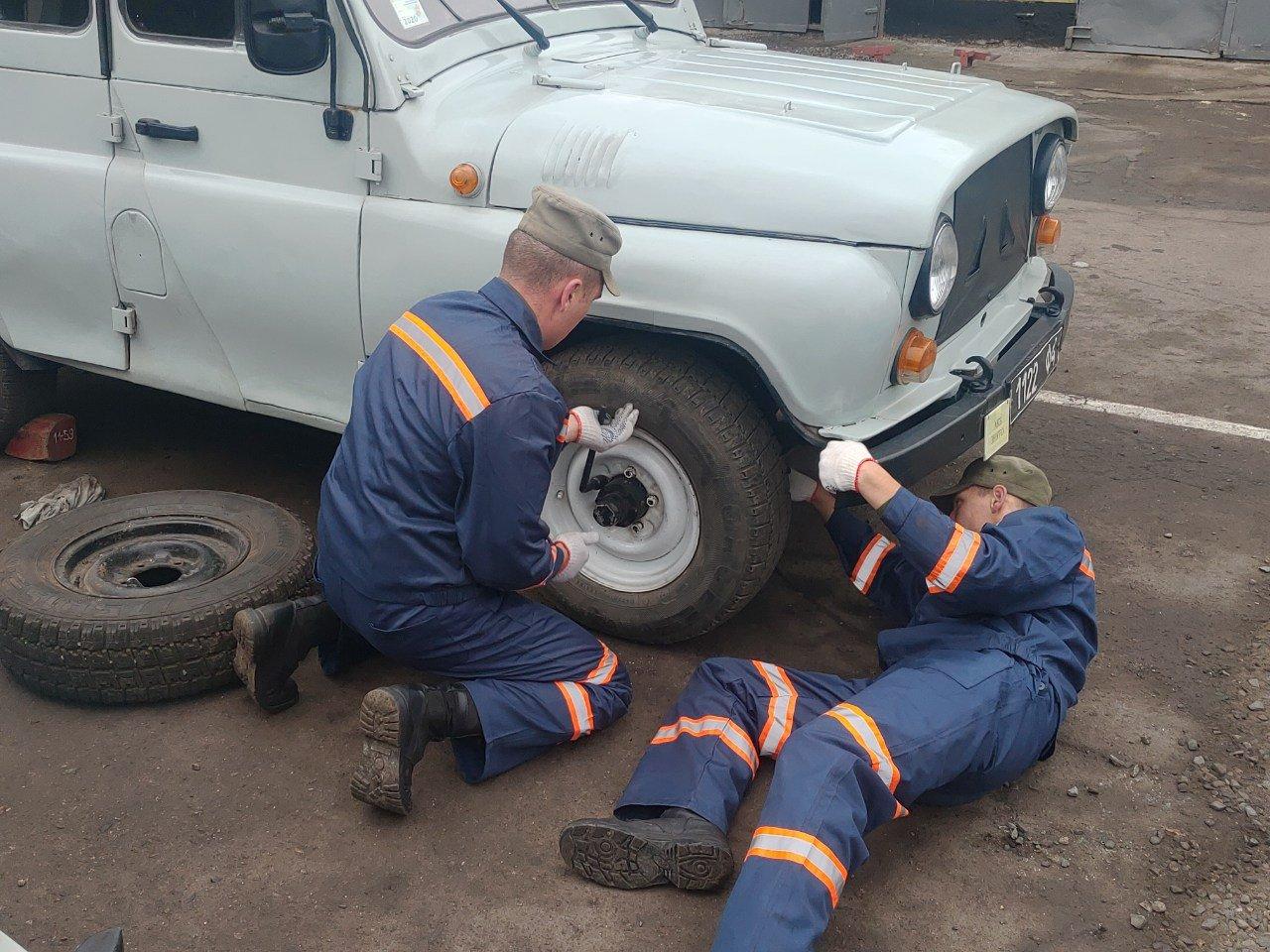 В Криворожской бригаде в автомобильном мастерстве соревновались водители и механики, - ФОТО , фото-5