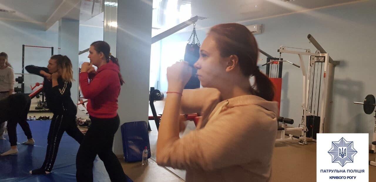 Патрульные начали обучать криворожанок самообороне, - ФОТО , фото-5