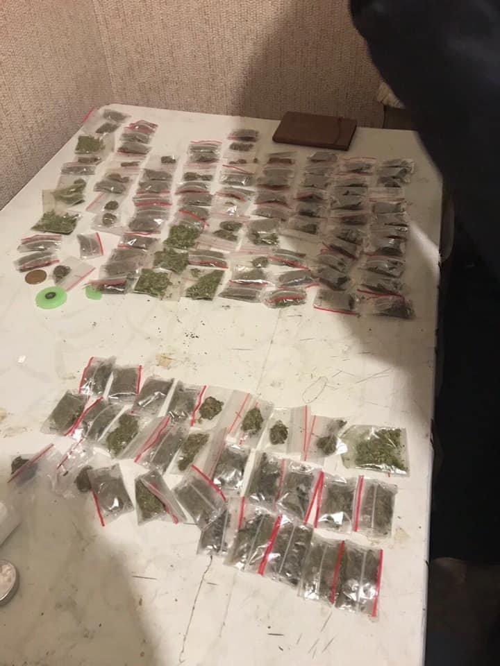 Сотни пакетов марихуаны обнаружили полицейские дома у криворожанина, - ФОТО, фото-1
