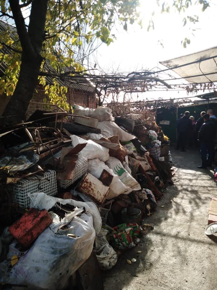 """Полиция в Кривом Роге нашла """"приемку"""" с 4 тоннами металлолома, - ФОТО, фото-2"""