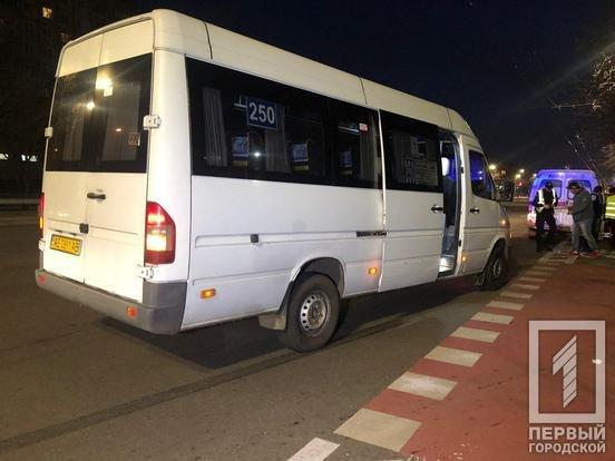 Маршрутка сбила пешехода в Кривом Роге, - ФОТО  , фото-2