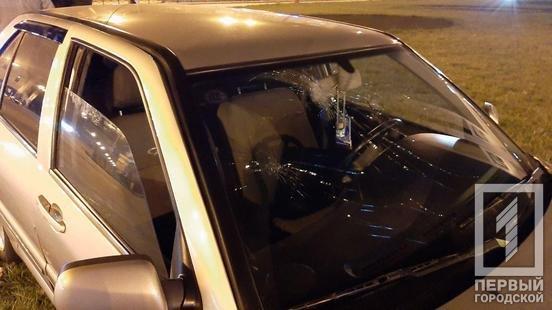 Водитель сбежал, от пассажиров разило алкоголем: на кольце 95-го в Кривом Роге иномарка влетела в столб, - ФОТО, фото-6