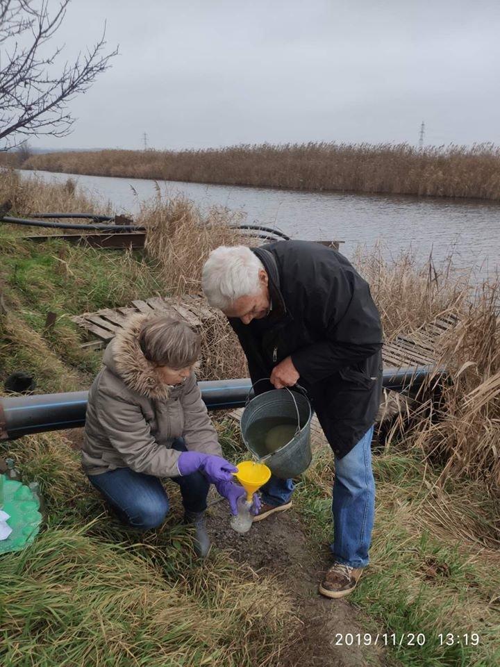 Во время отбора проб воды криворожские экологи обнаружили сброс бытовых стоков в реку Саксагань, - ФОТО, фото-2